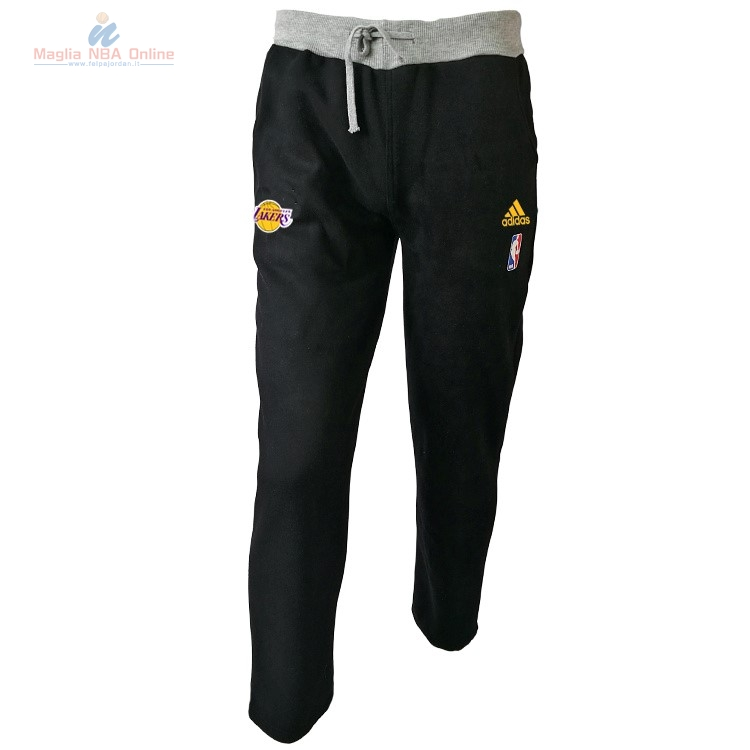Acquista Giacca Pantaloni Basket Los Angeles Lakers Nero