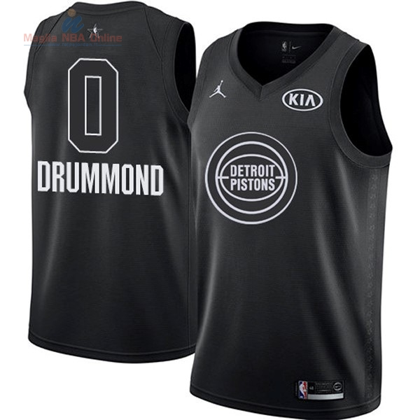 Acquista Maglia NBA 2018 All Star #0 Andre Drummond Nero