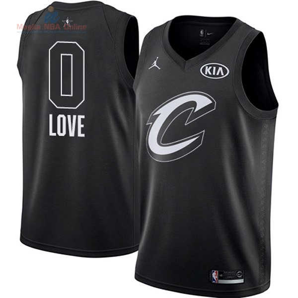 Acquista Maglia NBA 2018 All Star #0 Kevin Love Nero