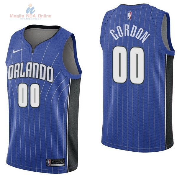 Acquista Maglia NBA Nike Orlando Magic #0 Aaro Gordon Blu Icon