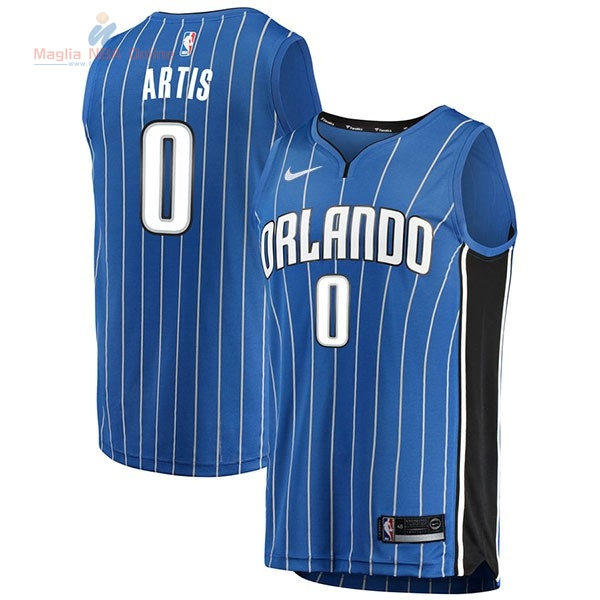 Acquista Maglia NBA Nike Orlando Magic #0 Jamel Artis Blu Icon
