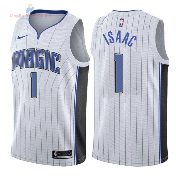 Acquista Maglia NBA Nike Orlando Magic #1 Jonathan Isaac Bianco Association