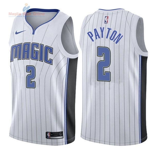 Acquista Maglia NBA Nike Orlando Magic #2 Elfrid Payton Bianco Association