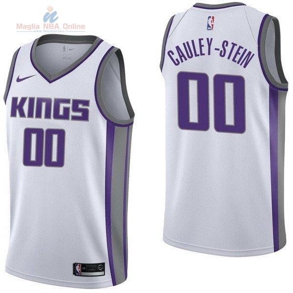 Acquista Maglia NBA Nike Sacramento Kings #0 Willie Cauley Stein Bianco Association