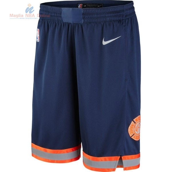 Acquista Pantaloni Basket New York Knicks Nike Marino