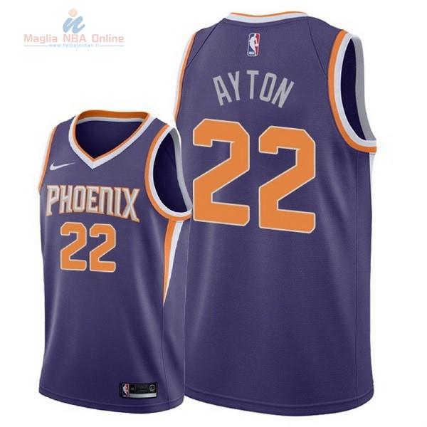 Acquista Maglia NBA Nike Phoenix Suns  22 DeAndre Ayton Porpora Icon 2018 fc68abe76648
