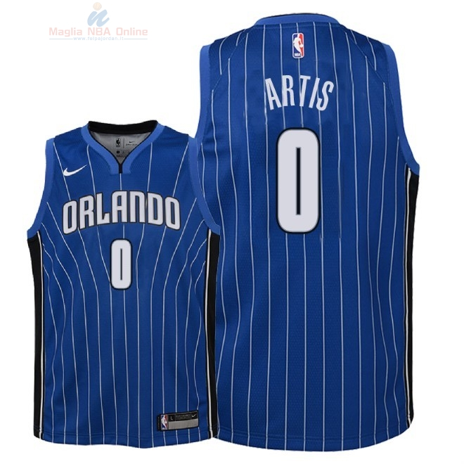 Acquista Maglia NBA Bambino Orlando Magic #0 Jamel Artis Blu Icon 2018