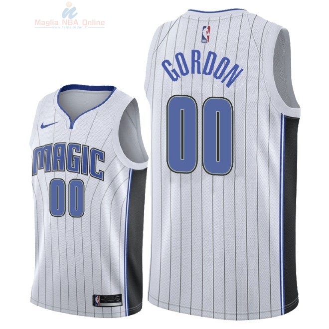Acquista Maglia NBA Nike Orlando Magic #0 Aaron Gordon Bianco Association 2018