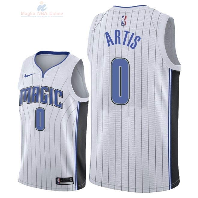 Acquista Maglia NBA Nike Orlando Magic #0 Jamel Artis Bianco Association 2018