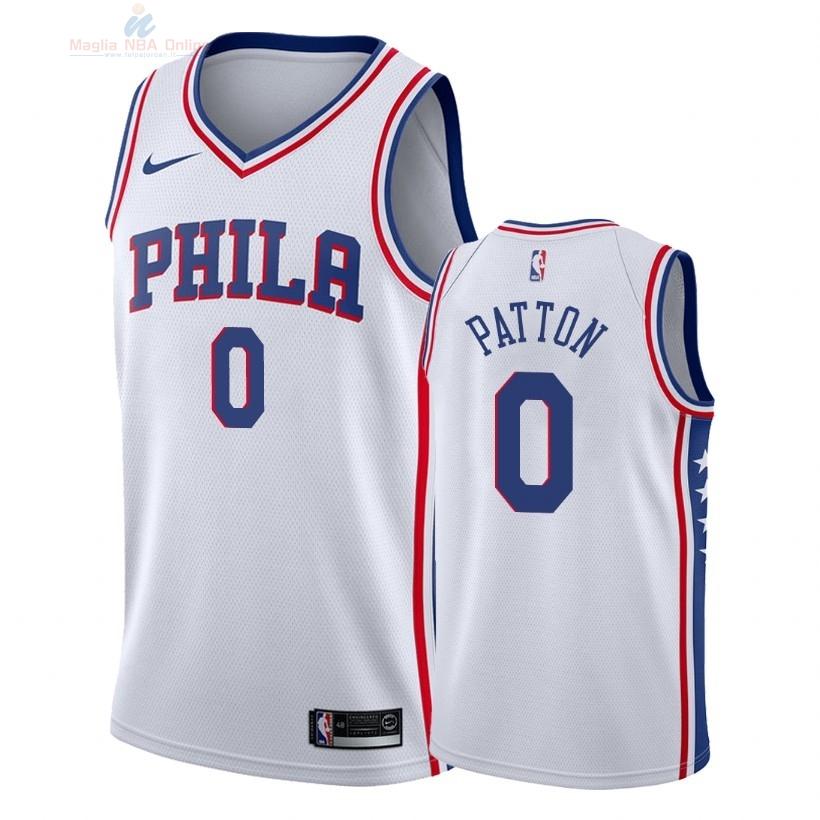 Acquista Maglia NBA Nike Philadelphia Sixers  0 Justin Patton Bianco  Association 2018 9f8a528455d5