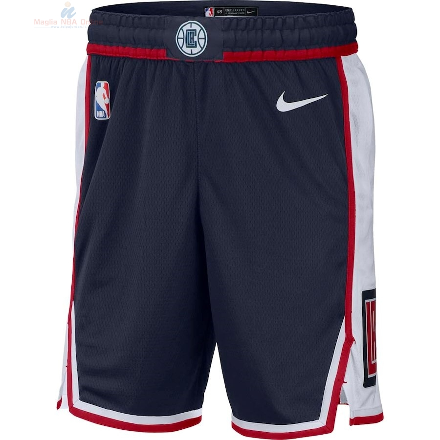 Acquista Pantaloni Basket Los Angeles Clippers Nike Marino Città 2018-19
