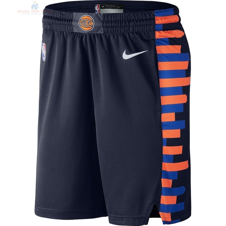 Acquista Pantaloni Basket New York Knicks Nike Marino Città 2018-19