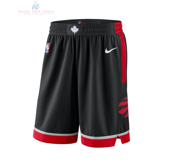 Acquista Pantaloni Basket Toronto Raptors Nike Nero Statement 2018
