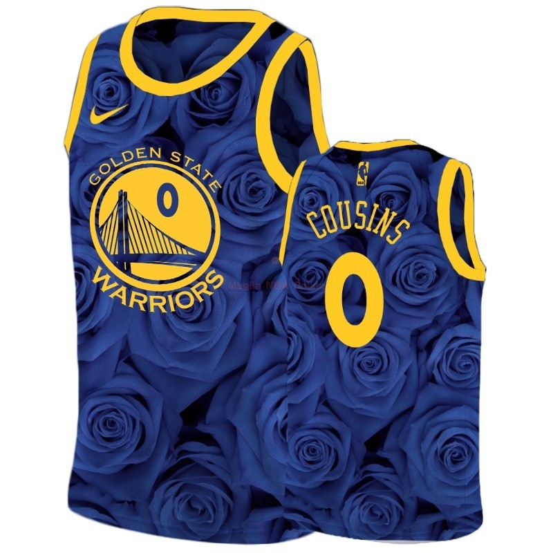 Maglia NBA Nike Golden State Warriors #0 DeMarcus Cousins Marino Acquista
