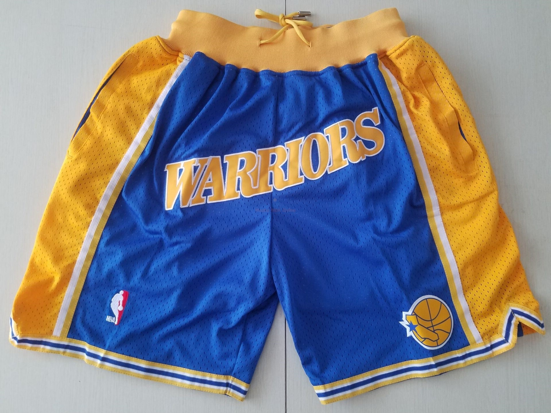 Pantaloni Basket Golden State Warriors Curry Blu Acquista