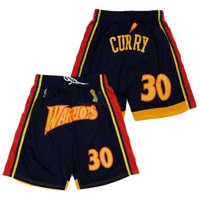 Pantaloni Basket Golden State Warriors Curry Nero Acquista
