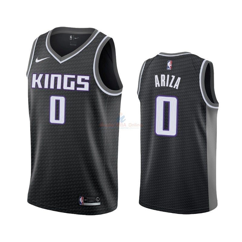 Maglia NBA Nike Sacramento Kings #0 Trevor Ariza Nero Statement 2019-20 Acquista