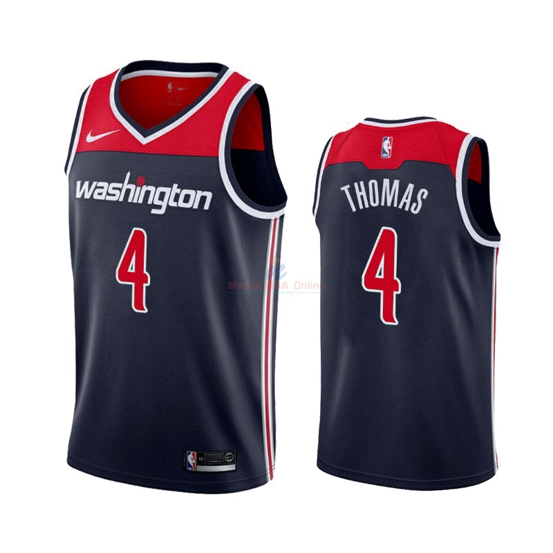 Maglia NBA Nike Washington Wizards #4 Isaiah Thomas Marino Statement 2019-20 Acquista