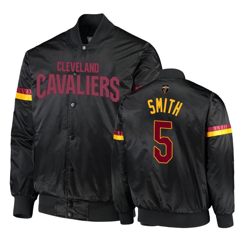Giacca NBA Cleveland Cavaliers #5 J.R. Smith Nero Acquista