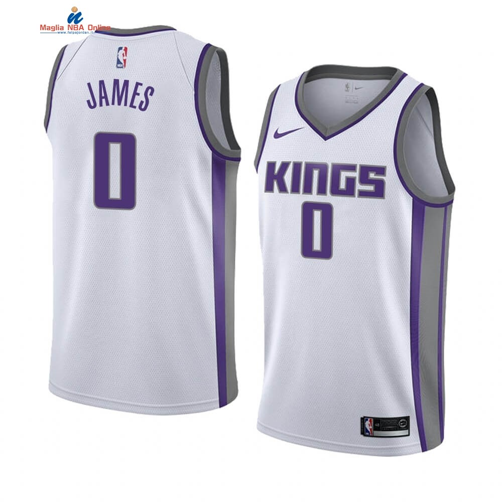 Maglia NBA Nike Sacramento Kings #0 Justin James Bianco Association 2019-20 Acquista