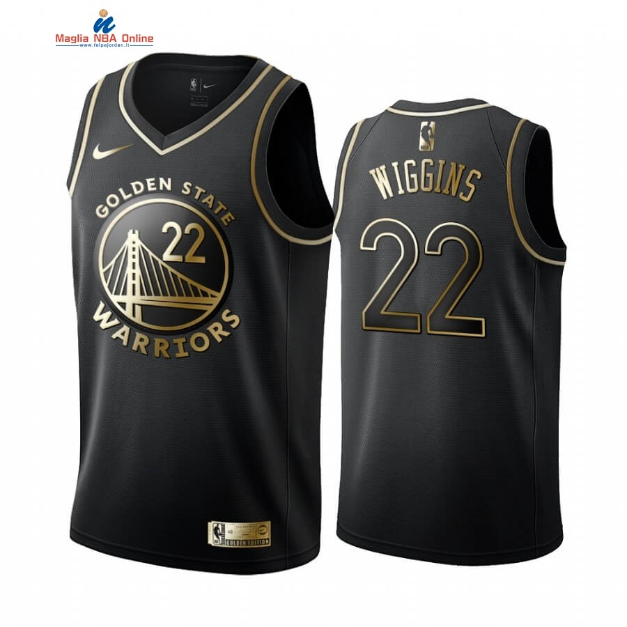Maglia NBA Nike Miami Heat #22 Andrew Wiggins Oro Edition 2019-20 Acquista