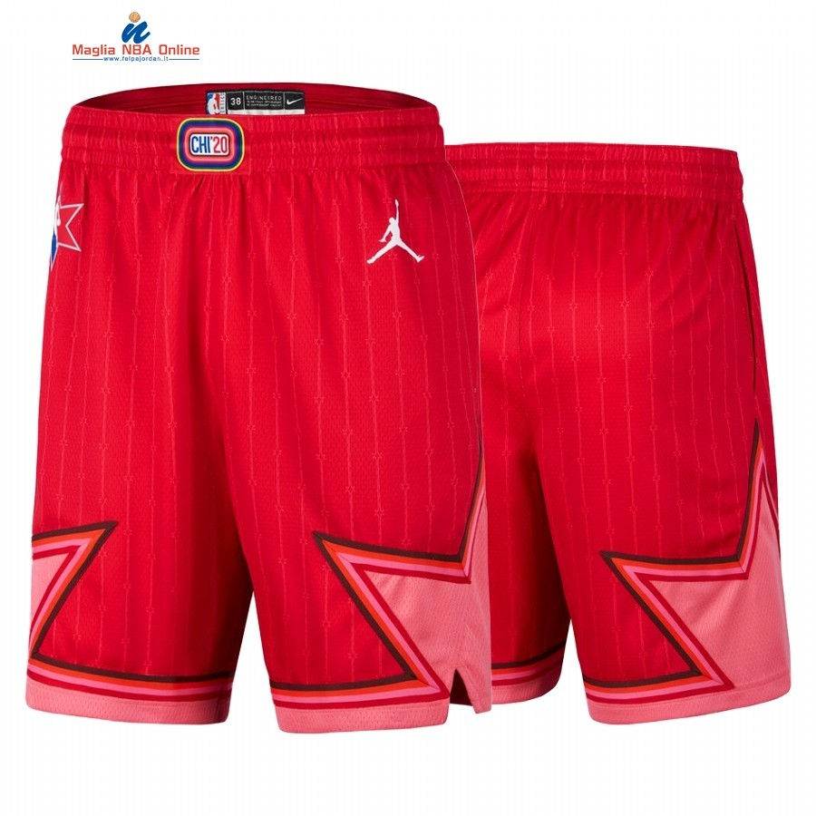 Pantaloni Basket 2020 All Star Rosso Acquista