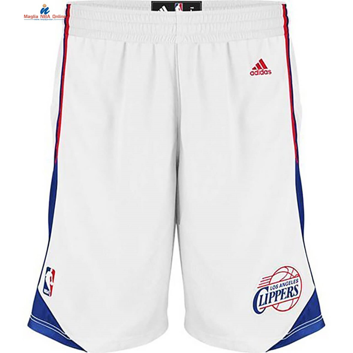 Pantaloni Basket Los Angeles Clippers Bianco 2020 Acquista