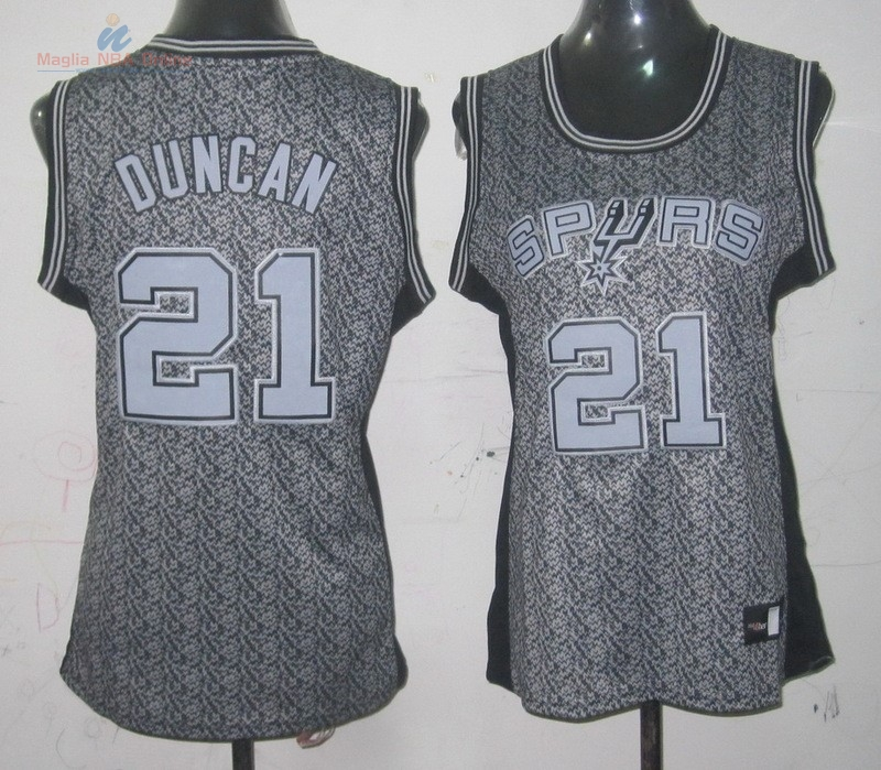 Acquista Maglia NBA Donna 2013 Fashion Statico #21 Tim Duncan