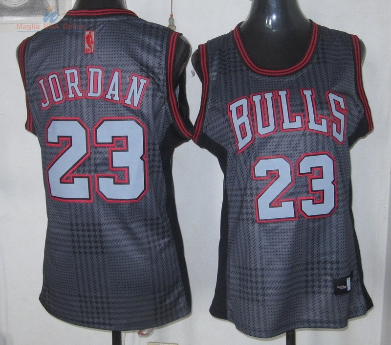 Acquista Maglia NBA Donna 2013 Fashion Statico #23 Jordan