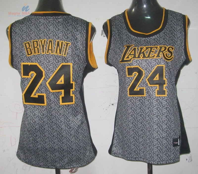 Acquista Maglia NBA Donna 2013 Fashion Statico #24 Kobe Bryant