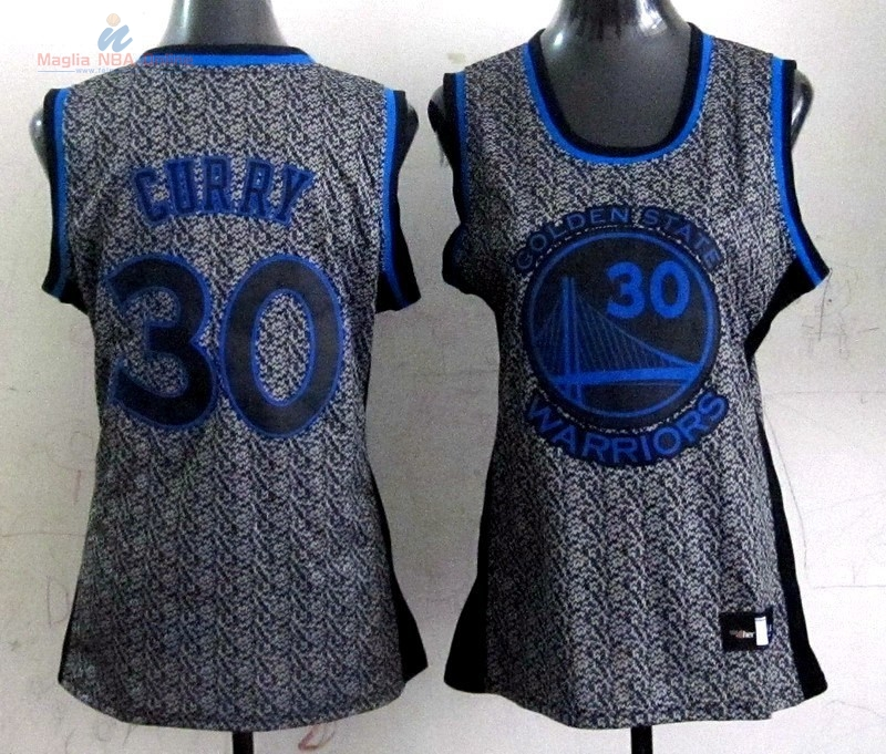 Acquista Maglia NBA Donna 2013 Fashion Statico #30 Stephen Curry