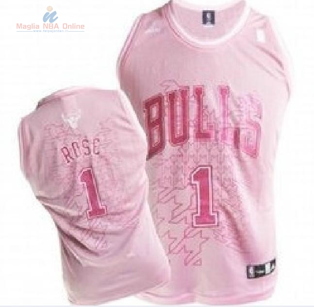 Acquista Maglia NBA Donna Chicago Bulls #1 Derrick Rose Rose