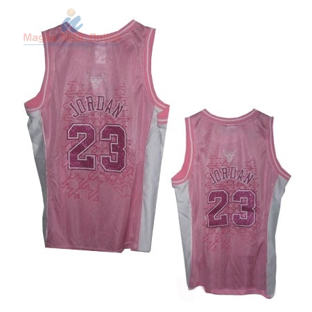 Acquista Maglia NBA Donna Chicago Bulls #23 Michael Jordan Rose