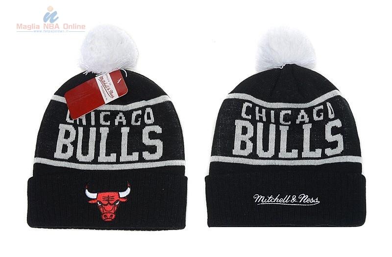 Acquista Cappelli di lana 2016 Chicago Bulls Nero Online.Divise ... 181873888a6e