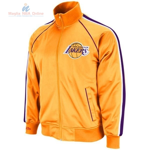 Acquista Giacca NBA Los Angeles Lakers Giallo