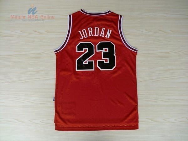Acquista Maglia NBA Chicago Bulls  23 Michael Jordan Retro Rosso ... a9082205e9d2