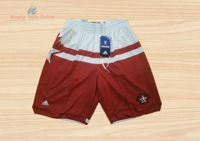 Acquista Pantaloni Basket 2016 All Star Rosso