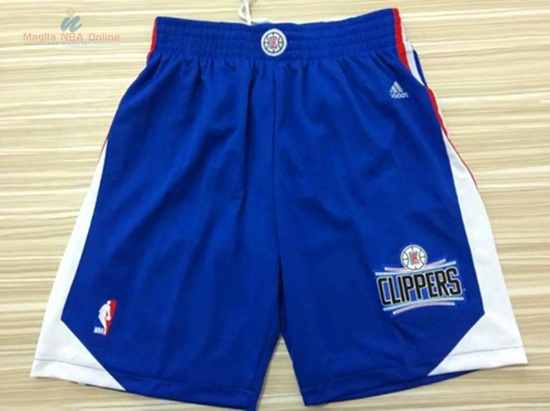 Acquista Pantaloni Basket Los Angeles Clippers Blu