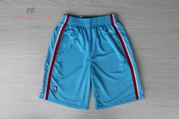 Acquista Pantaloni Basket Los Angeles Clippers Manica Corta Blu