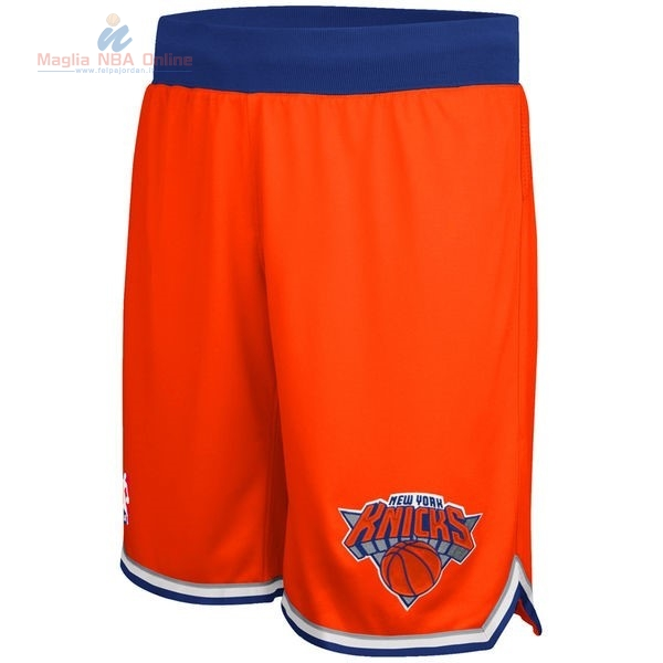 Acquista Pantaloni Basket New York Knicks Arancia