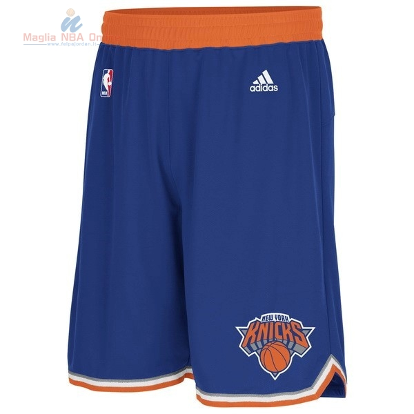Acquista Pantaloni Basket New York Knicks Blu