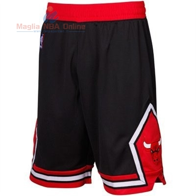 Acquista Pantaloni Basket Nike Chicago Bulls Nero