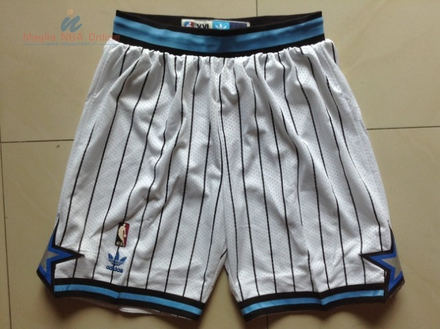 Acquista Pantaloni Basket Orlando Magic Bianco Striscia