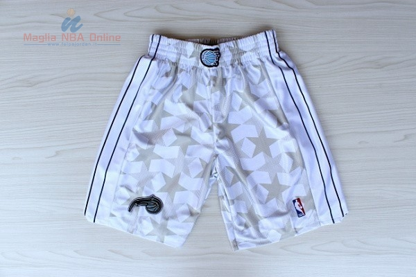 Acquista Pantaloni Basket Orlando Magic Bianco