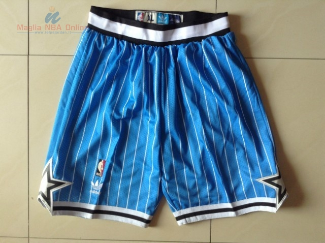 Acquista Pantaloni Basket Orlando Magic Blu Striscia